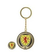 Official Team Scotland FA Keyring and Badge - Blue - Womens 004732