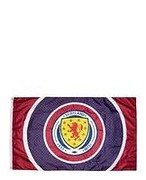 Official Team Scotland FA Bullseye Flag - Navy - Womens 004695