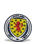 Official Team Scotland FA Crest Magnet - Blue - Womens 004665